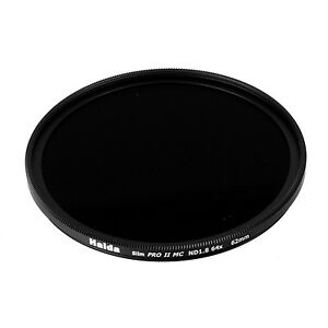 Haida 62mm Slim PRO II Multi-Coated ND64 Filter Neutral Density ND 1.8 62 6 Stop