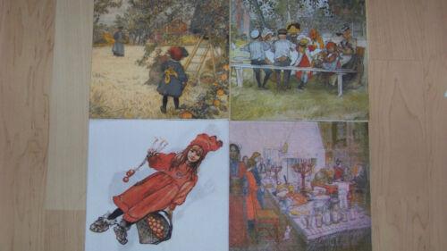 1-2 seltene Servietten Carl Larsson verschiedene Motive zur Auswahl