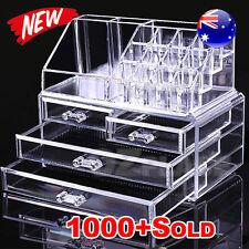 Premium Holder Cosmetic Organiser Makeup 4 Drawer Acrylic Storage Jewellery Box