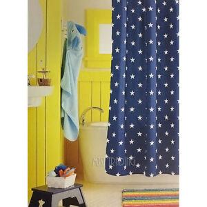Image Is Loading NEW Circo Navy White Star Kid Bath Bathroom