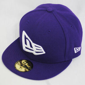 Details about New Era 59fifty Flag Flat Peak Fitted Navy Black Grey Purple  Hat Cap e202a0ac1d58