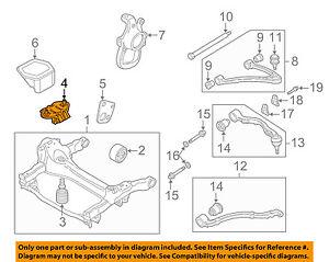 Jaguar Oem 88 03 Griego Plas Suspension Delantera Motor Cuna De