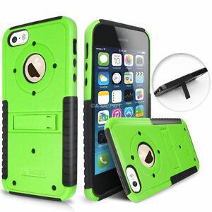 For-Apple-iPhone-SE-5S-5-Slim-Shockproof-Hybrid-Hard-Stand-Protective-Case