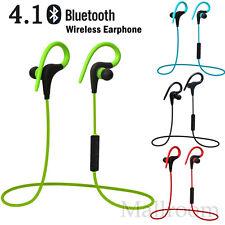 Sport Musique Sans fil Casque Bluetooth 4,1 Stéréo in-ear Écouteurs audio Mik
