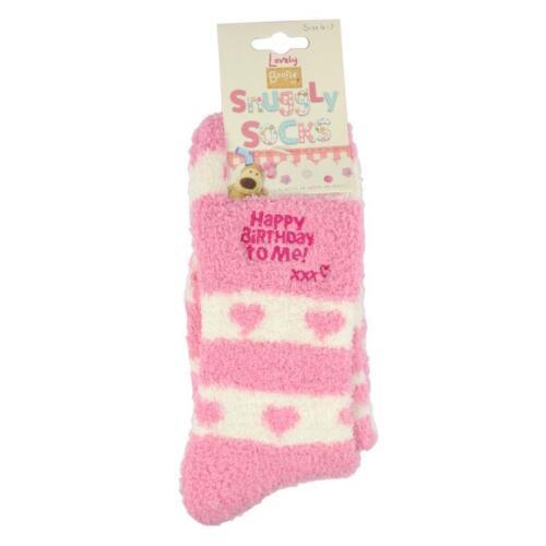 Boofle Fluffy Socks Gift Happy Birthday Gift Socks X70205