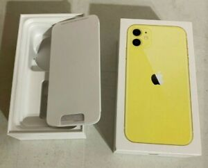 Apple-iphone-11-64GB-Yellow-Box-Original-Retail-Packaging-Genuine-Empty-Box