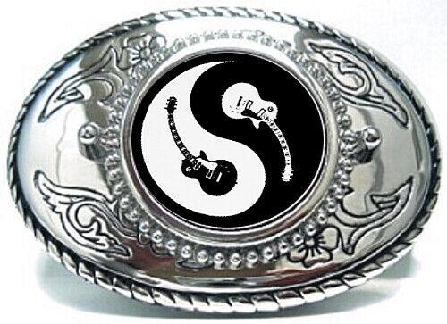 Yin Yang Fish Belt Buckle