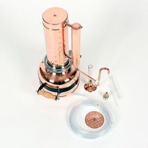 Huile-essentielle-vapeur-distillateur-Kit-5-L-amp-essencier-Basic-Set
