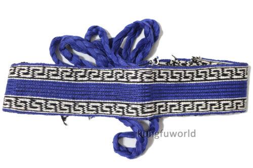 Shaolin Monk Qigong Belts Cotton Wushu Martial arts Kung fu Taekwondo Sashes