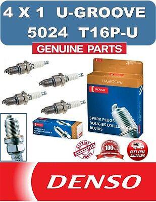 4x Denso Iridium Power Spark Plugs Genuine Service Part OE Quality