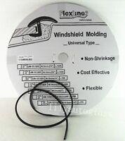 Flexline Windshield Auto Glass Universal Molding Flexible Trim Rubber 12.8mm