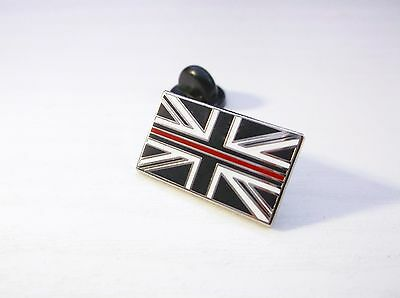 THIN RED LINE US STATES FALLEN FIREFIGHTERS FIREFIGHTER MOURNING BAND PIN BADGE