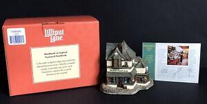 Lilliput-Lane-L2053-039-Haberdashery-Victorian-Shops-039-Boxed-amp-Deeds-1997