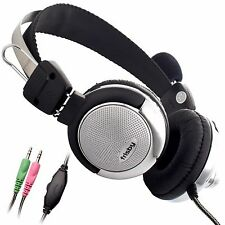 Frisby Super Bass SKYPE MSN Yahoo Chat Headphone Noise Canceling Microphone Mic