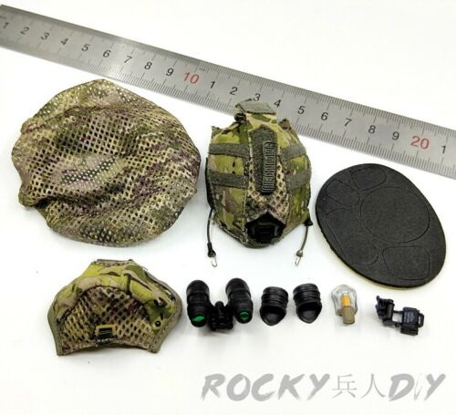 Helmet Set for FLAGSET FS-73017 Israel Wild Boy Special Forces 1//6 Scale Action
