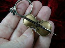 (#M13-B) Vuillaume Strad CELLO jewelry KEY CHAIN ring keychain miniature cellos