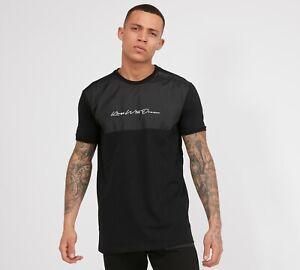 Kings-Will-Dream-KWD-New-Mens-Crew-Neck-Short-Sleeve-T-Shirt-Brent-Black
