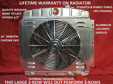 1949-1954 Chevrolet Passenger Car Aluminum Radiator Bel Air Styleline Fleetline