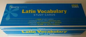 Latin-Vocabulary-SparkNotes-Study-Cards