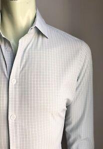 Mizzen & Main Shirt, Hudson Plaid, Small, Slim Fit, Excellent Condition