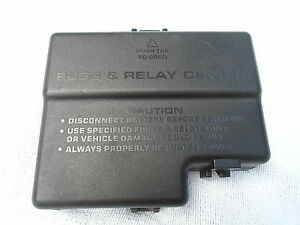 2000 2001 2002 thru 2005 dodge neon relay fuse box cover lid oem free shipping ebay