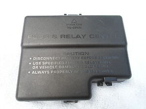 2000 2001 2002 thru 2005 dodge neon relay fuse box cover. Black Bedroom Furniture Sets. Home Design Ideas