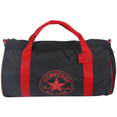 Converse Small Legacy Duffel Bag Black//Crimson