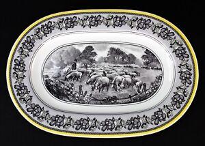 Villeroy Boch Audun Ferme Country Scene 13 1 2 Long Oval Serving Platter Ebay
