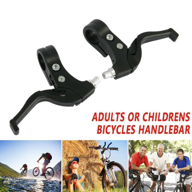 BMX Road Mountain Bike Bicycle Cycle Handle Hand Brake Levers 2-finger DH P1