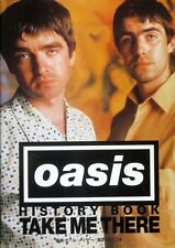 Oasis History Book - Take Me There - Softcover w/DJ 1997 (Japanese)