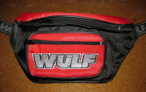 Wulfsport Kids Waist Bag Bumbag Accessories MX Red Wulf Bag BC13162