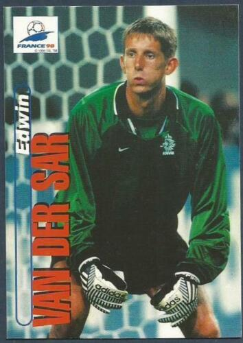 PANINI WORLD CUP 98 #009-HOLLAND /& AJAX-EDWIN VAN DER SAR