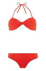 Swimwear Flamingo Bikini Top /& Bottom Pants Ladies Bandeau Top Women/'s Primark