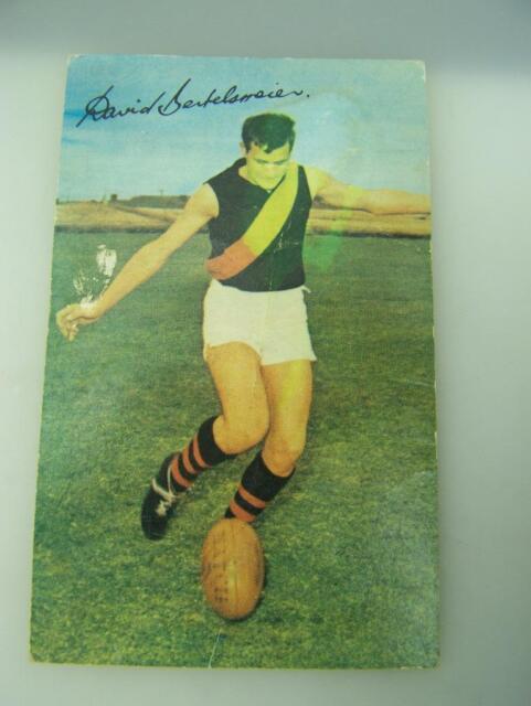 1965 Mobil Footy Photos David Bertelsmeier West Adelaide Football Club      2448