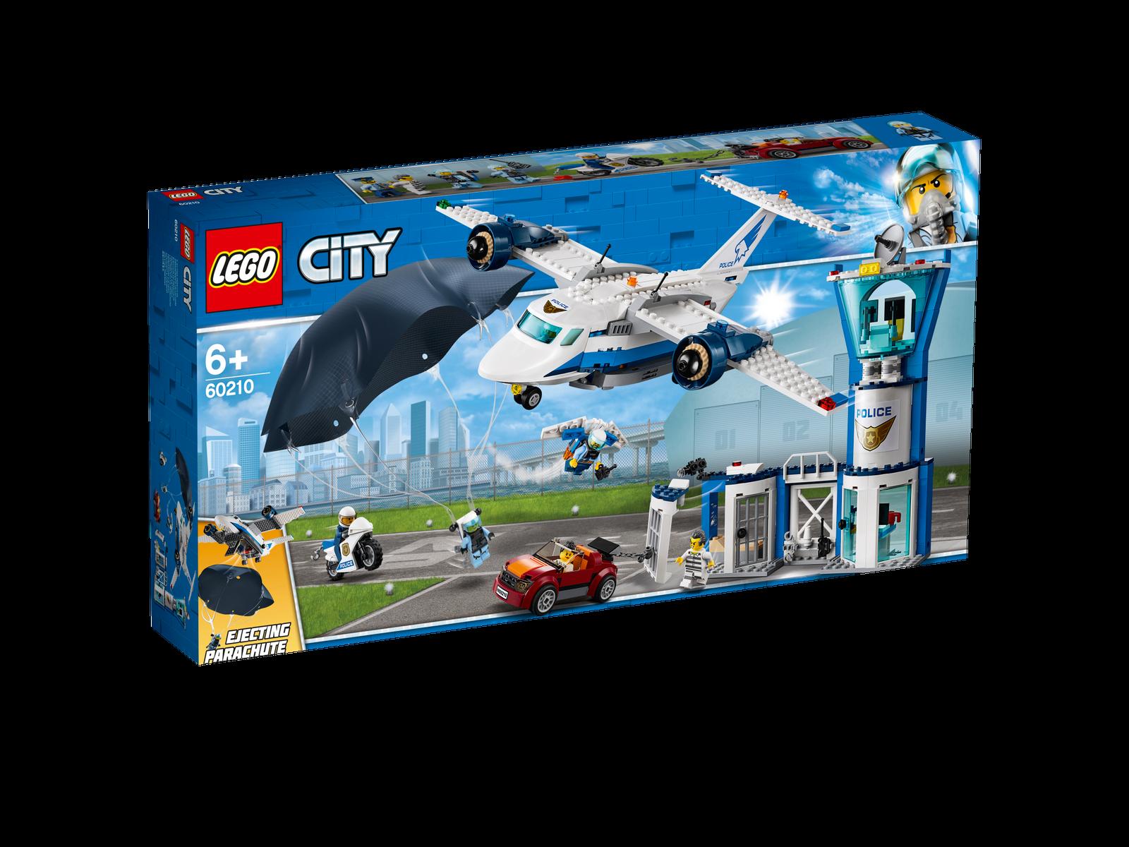 LEGO ® City 60210 police Aviateur Base Nouveau neuf dans sa boîte _ sky police air base New En parfait état, dans sa boîte scellée