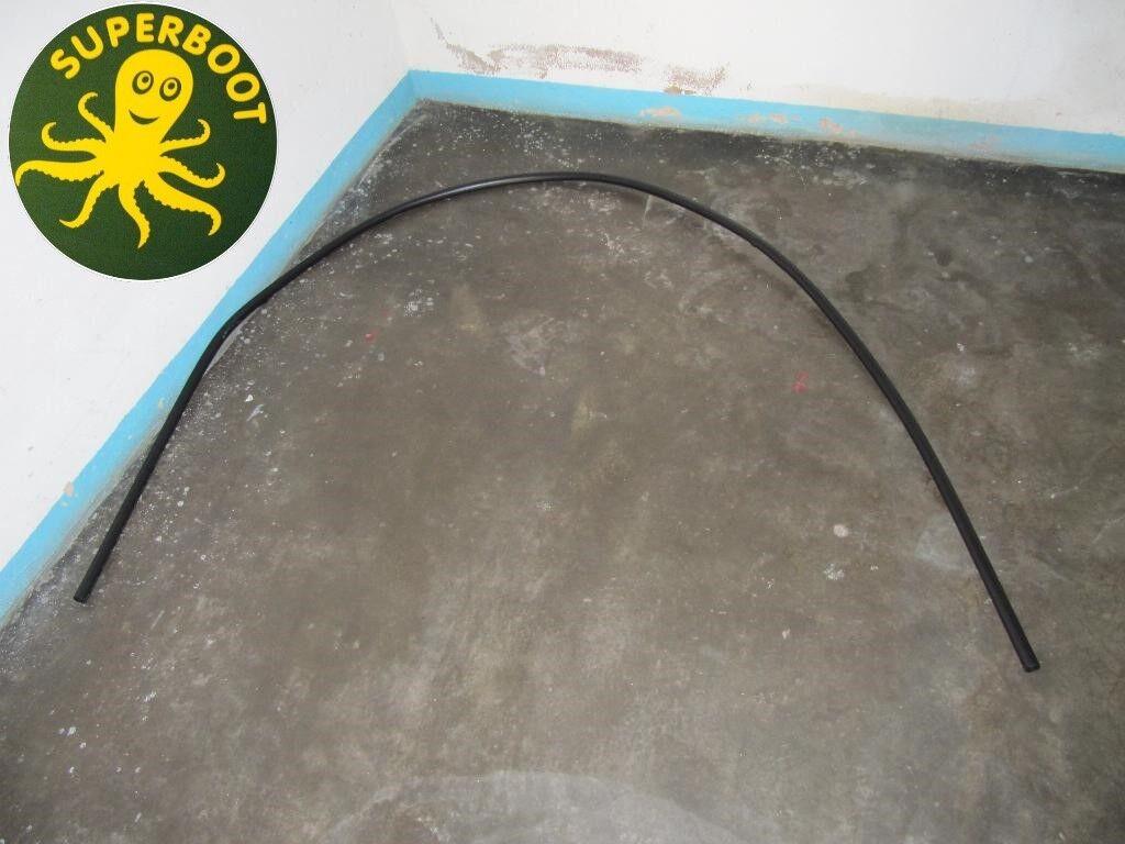 1 Satz Schutzrohre für ein Falt klappStiefel aus Kunststoff