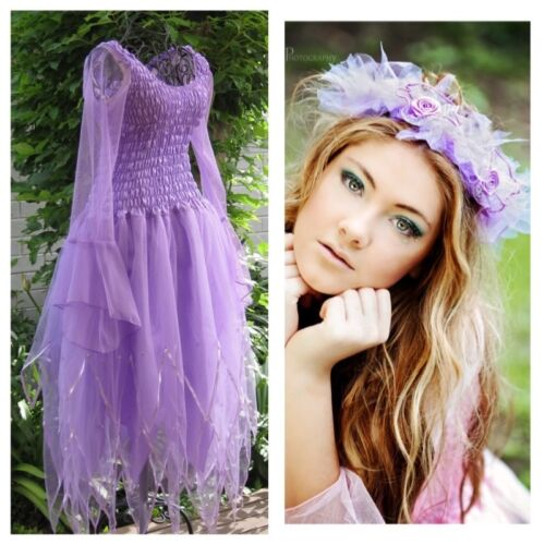 Adult Fairy Dress Halloween Costume Bachelorette Party FREE Tulle Halo