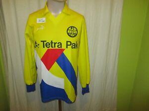 Eintracht-Frankfurt-Puma-Langarm-Auswaerts-Trikot-1994-95-Nr-10-Gr-S-M