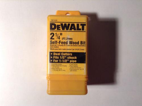 """Dewalt DW1638 2-1//4/"""" Self-Feed Wood Bit"""