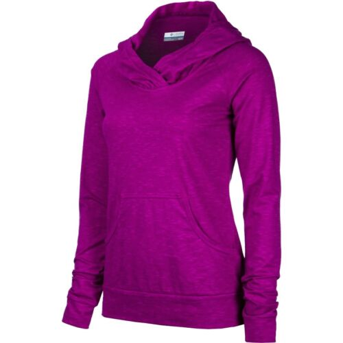 Columbia Women/'s Pedal Flats Lightweight Hoodie NWT Groovy Pink Pullover