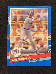 1991 Donruss Ken Griffey Jr Mint Seattle Mariners Baseball Card