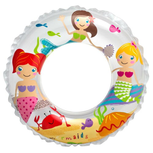 Motiv Meerjungfrau Schwimmring Schwimmreifen Wasserspielring Kinder Ø 61 cm