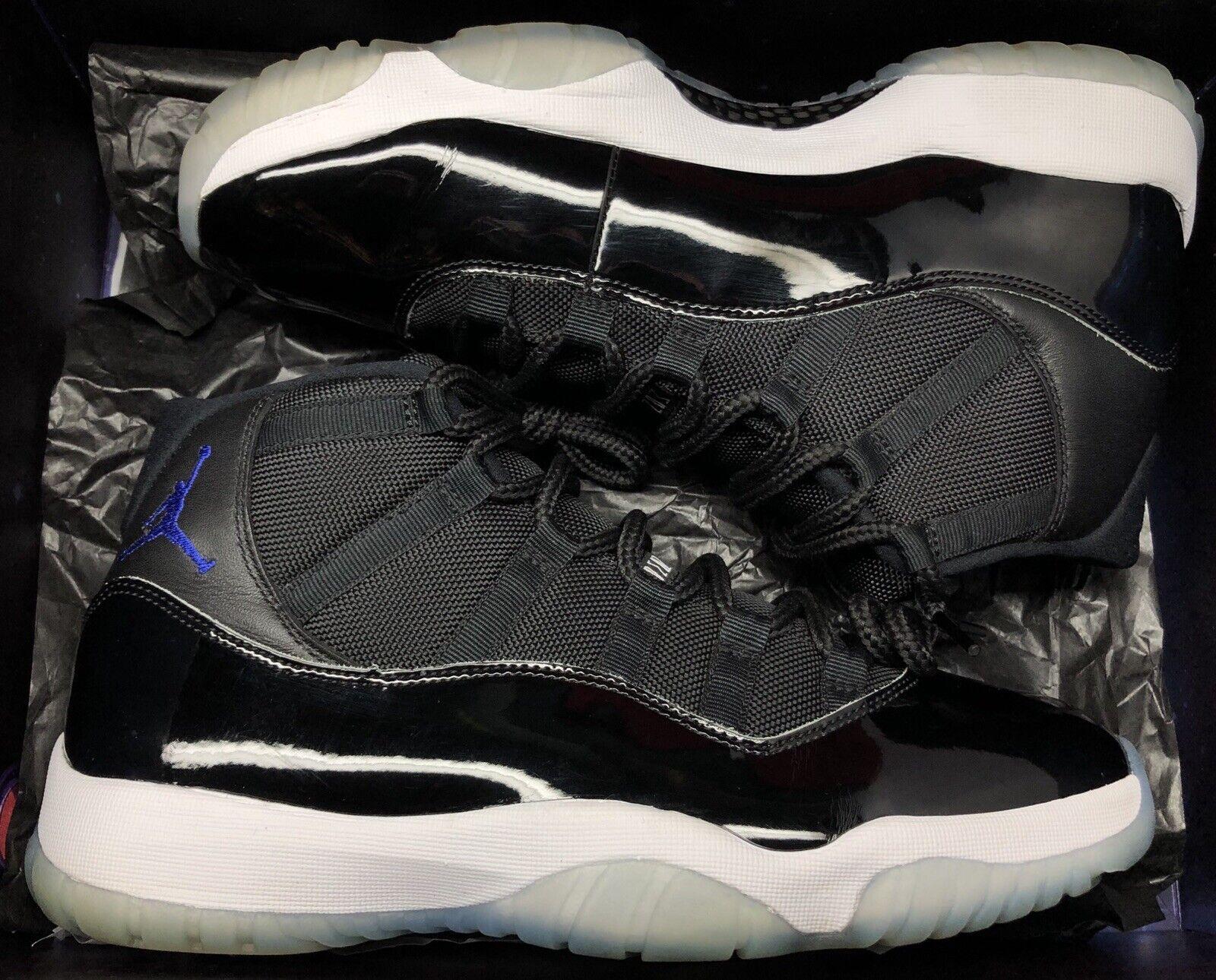 2016 Jordan 11 Space Jam Negro blancoo Concord criados Talla