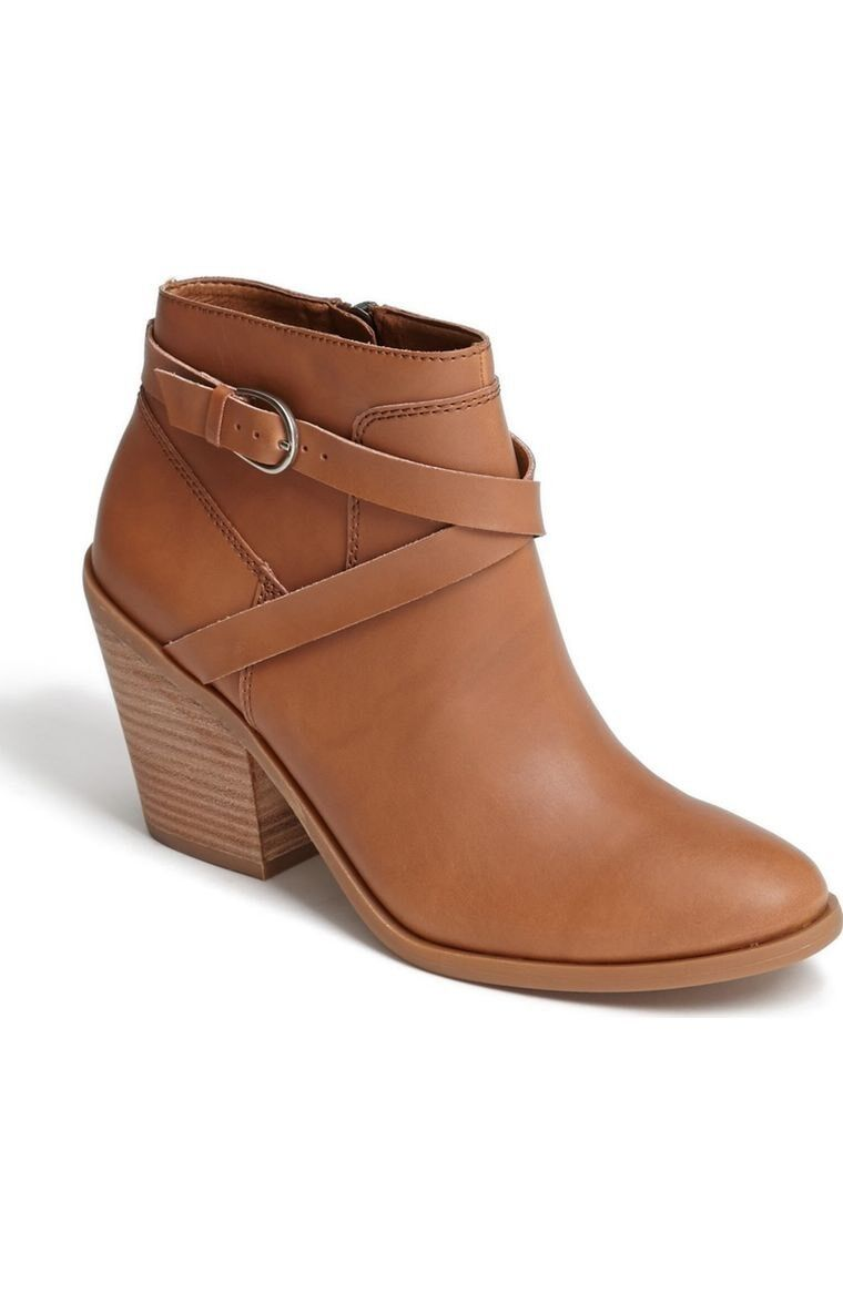 Lucky Brand Eloy Booties Size 8.5 Leather Women New MSRP: $80