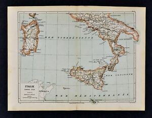 Details about 1885 Cortambert Map - South Italy - Naples Sicily Sardinia on taormina to palermo map, palermo north dakota road, palermo soho argentina maps, palermo sights to see map, palermo ny map, nd map, palermo maine map, palermo airport map, palermo north dakota train, palermo nd, crema italy on a map, palermo italy,