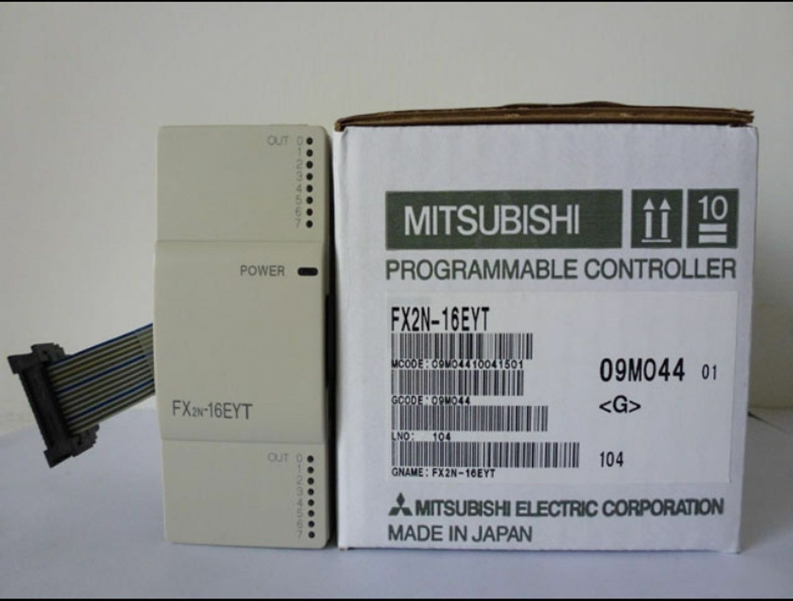1PC MITSUBISHI FX2N-16EYT Programmable Logic Controller NEW IN BOX  OH06
