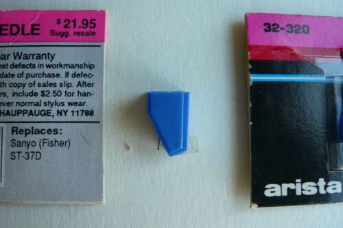 Fisher ST-37D Stylus New Arista Sanyo Turntable Replacement Needle