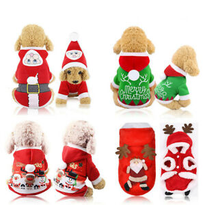 Xmas-Santa-Pet-Cosplay-Clothes-Warm-Coat-Dog-Cat-Hoodie-Puppy-Jumpsuit-Costume