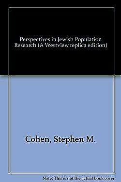 Perspectives in Jewish Population Research by Brandeis University