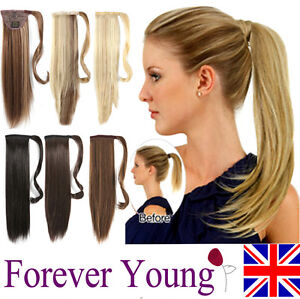 Clip-In-Pony-Tail-Hair-Extension-Wrap-Around-Ponytail-Hair-Extension-Piece